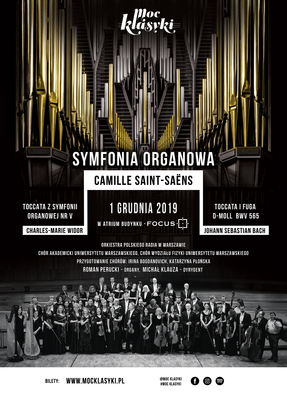 Organ Symphony - Focus building in Warsaw